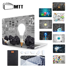 MTT محمول كم لماك بوك اير برو 11 12 13 15 16 الشبكية مع شريط اللمس ضوء لمبة الحال بالنسبة لماك بوك 13.3 بوصة غطاء a2289