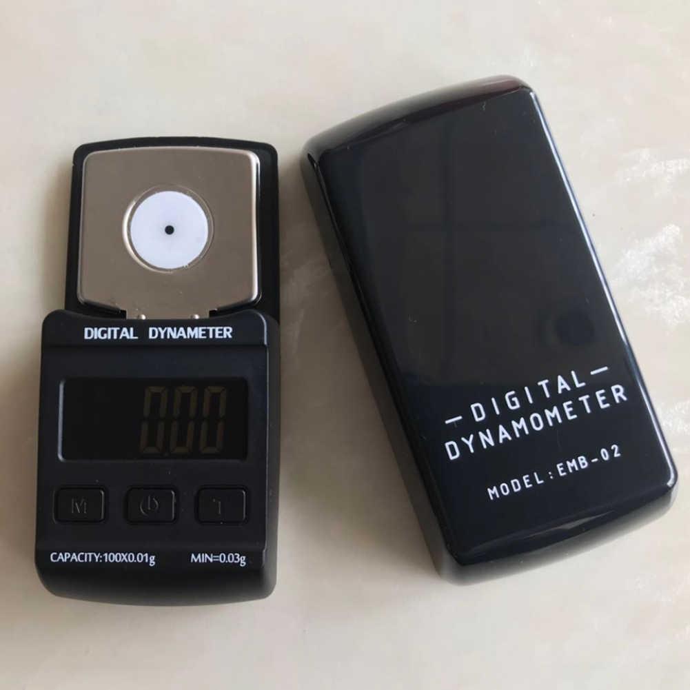 ميزان صغير محمول مقياس الوزن مسجل فينيل القرص الدوار الرقمي قوة المعايرة المهنية مقياس عالية الدقة ستايلس LCD