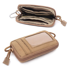 Wallet Nylon Portable Mini Card And Key-Bag Coin-Purse Change-Travel-Kit Mens