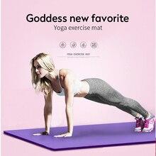 1830*610*10 мм коврик для йоги, эластичные Нескользящие Коврики для фитнеса, гимнастики, сумка для переноски, толстый наколенник, коврик для упражнений
