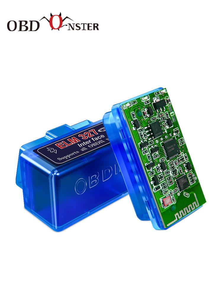 OBD2 Scanner Car-Diagnostic-Tool Elm 327 V2.1/v1.5 Mini Android/windows Full-Obdii Super