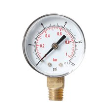 Y50 Radial Pressure Gauge High Quality Barometer Oil Water Precision