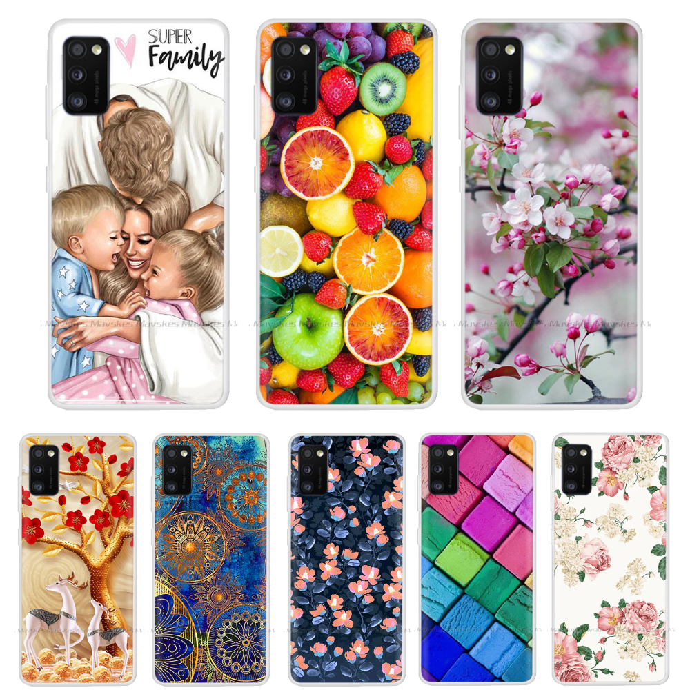 For Samsung Galaxy A41 A51 Case NEW Fashion Silicon Soft TPU Back Cover Coque For Samsung A41 A51 A 51 Phone Cases Cover Fundas