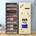 Сборная стойка для обуви, несколько слоев, экономия пространства, органайзер для обуви, шкаф, пылезащитный шкаф для обуви, мебель для дома, Н...