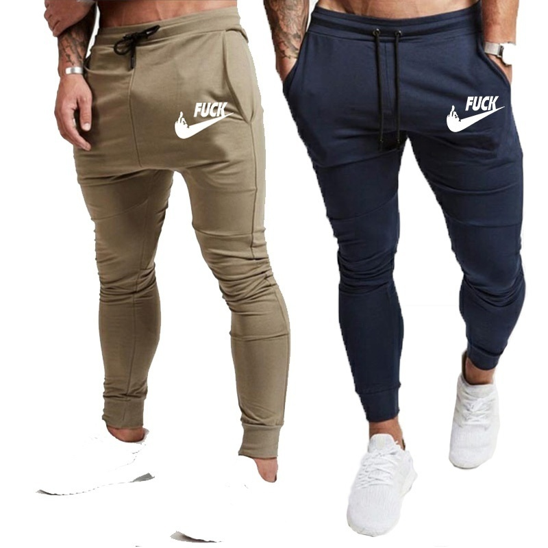 Zogaa Brand Men Joggers Sweatpants Trousers Fashion Vanquish Fitness Bodybuilding Pocket Long Pants Gyms Jogger Track Pants