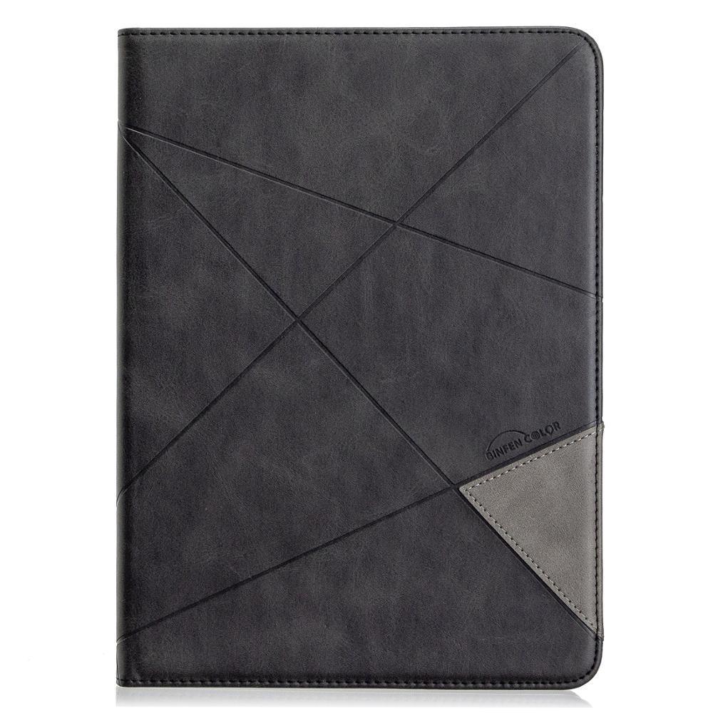 New Card Wallet Flip Tablet Case for iPad Pro 11 2020 2th Gen Case Geometric Figure