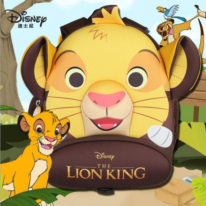 100% Genuino Il Re Leone Simba 2020 Nuovo Zaino Per Bambini anti-perso Re Leone cute della Scuola Dei Bambini del Sacchetto giocattolo regalo di compleanno bambola 1