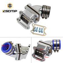 ZSDTRP Dio50 AF18/28/27 49cc 50cc High Performance Racing Intake Manifold Inlet Pipe for CX/ZX/SE/SK/SA50