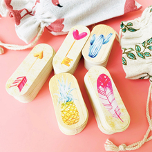 50pcs DIY Label Handmade Garment Tags Flower heart Paper Party Decoration Gift Hang Box Round Cards