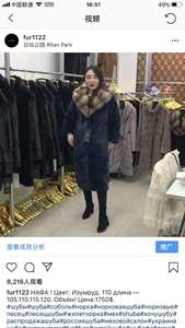 Jackets Mink-Coat Real-Fur-Coat Natural Fur Vintage 1803 Women Long Winter Warm And Wishers