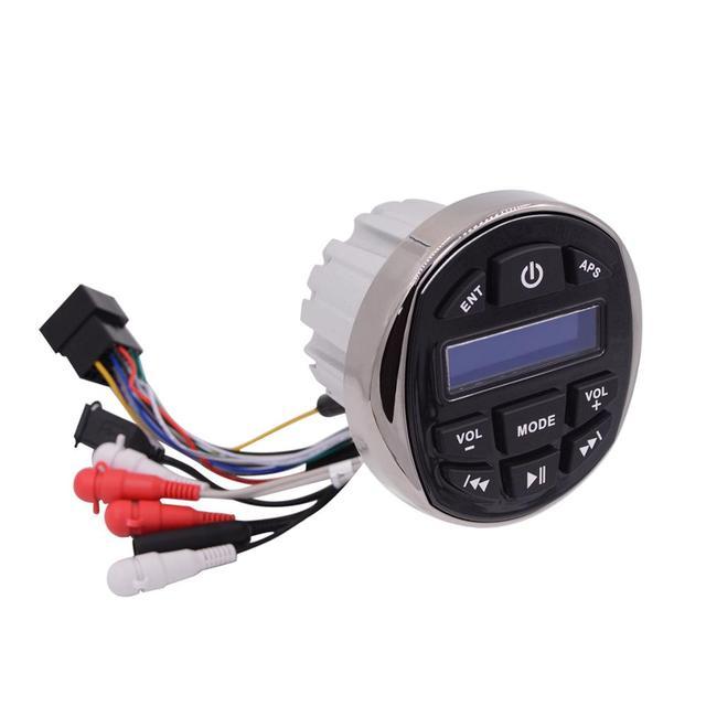 Radio stéréo Marine étanche   Bluetooth Audio FM AM DAB Media récepteur MP3, lecteur pour piscine bateau ATV UTV moto chariot de Golf