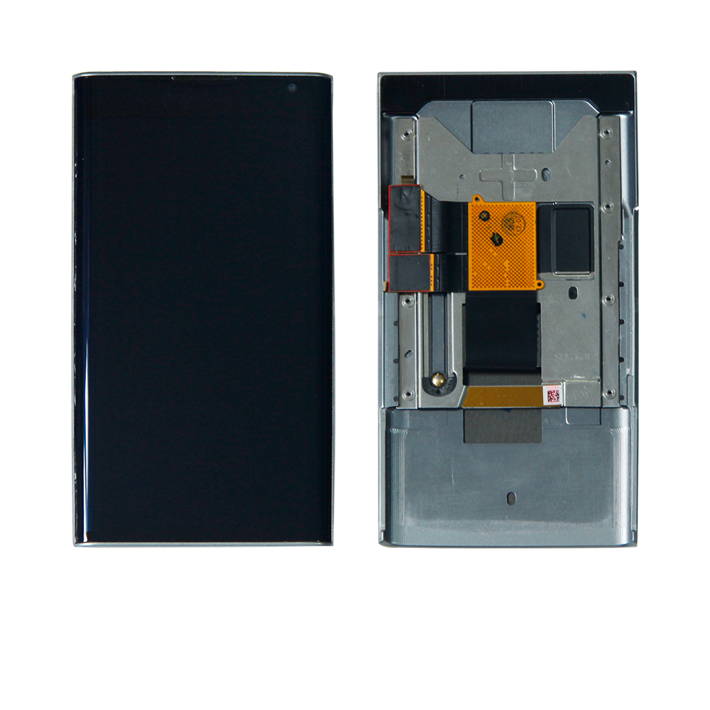 For BlackBerry Priv STV100-1/2/3/4 LCD Display Touch Screen Digitizer With Frame Black Assembly Replacement(China)