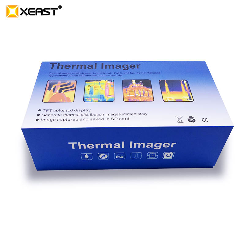 Thermal Imaging Camera In LCD Display With BLUE Background For Testing 5