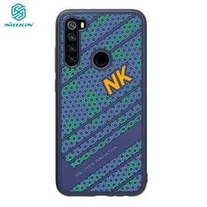 Image 1 - Redmi Note 8 Case NILLKINซิลิโคนเรียบกันกระแทกปกหลังPCสำหรับXiaomi Redmi Note8 Note 8 Pro