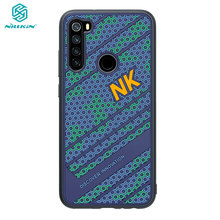 Redmi Note 8 Case Nillkin Siliconen Smooth Shockproof Pc Back Cover Voor Xiaomi Redmi Note8 Note 8 Pro