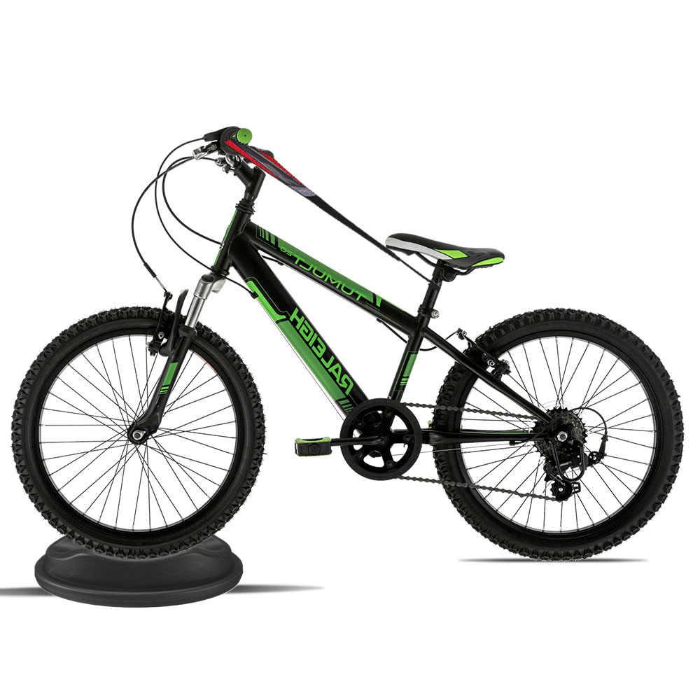 Bisiklet ön tekerlek yükseltici blok Stabilize bisiklet eğitmen destek standı 2.5 ''katlı kapalı bisiklet eğitmeni eğitim sabit bisiklet