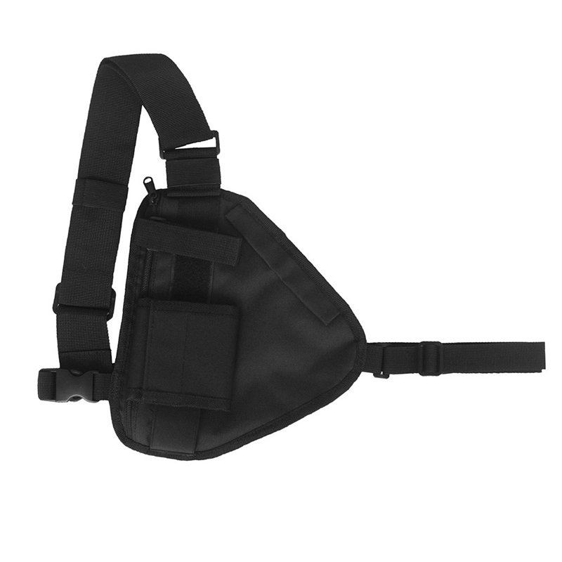 Chest Rig 600D Oxford Cloth Chest Bag Walkie-Talkie Chest Bag Wireless Hand-Held Search And Rescue Radio Bag Chest Bag