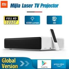 [Küresel sürüm] Xiaomi Mijia lazer projektör TV Full HD 1080P 4K 3D Android ev sineması sinema telefon için başbakan Video Google