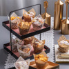 tulip Cup cake model bar cafe festive wedding birthday party decoration supplies fake simulation cake dessert food props