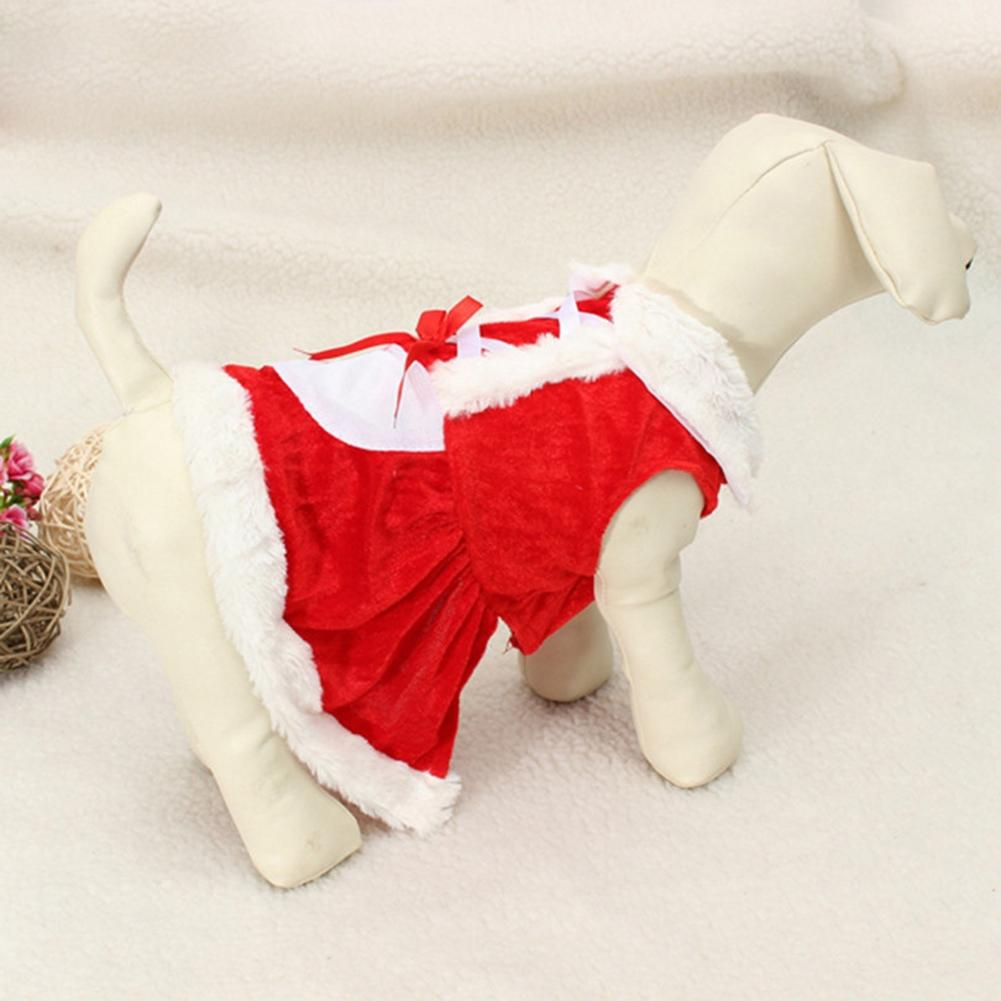 Christmas <font><b>Dog</b></font> <font><b>Dress</b></font> <font><b>Winter</b></font> Pet <font><b>Dog</b></font> Clothes Xmas <font><b>Dog</b></font> Costume yorkie Chihuahua Cat Clothes Pet Clothing <font><b>Dresses</b></font> image