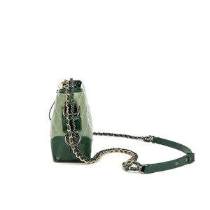 Image 3 - Kadınlar için hakiki deri çanta 2019 lüks markalar tasarımcı çantaları zincirleri Crossbody çanta bayanlar debriyaj gövdesi omuzdan askili çanta