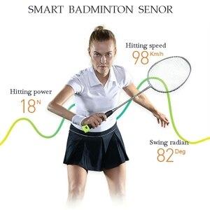Image 3 - Coollang 3,0 Smart Badminton Schläger Sensor Tracker Drahtlose Bluetooth Motion Analyzer für Android IOS Smartphone Sport Tracker