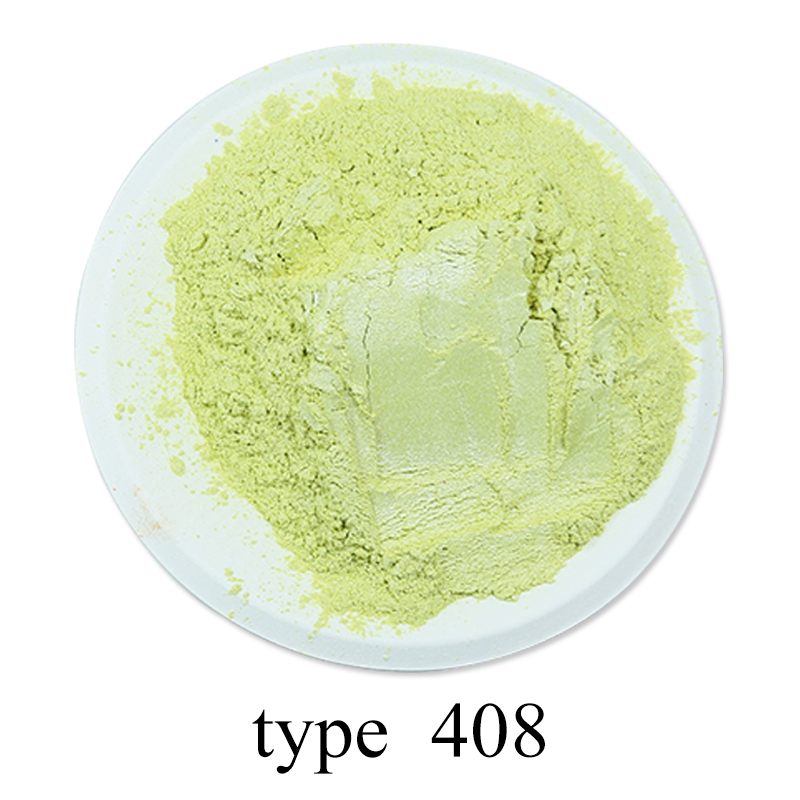 Pigment Pearl Powder Acrylic Paint Type 408 For Craft Art Cars Paint Soap 50g Pearlized Shimmer Dye Colorant Mica Powder Pigment