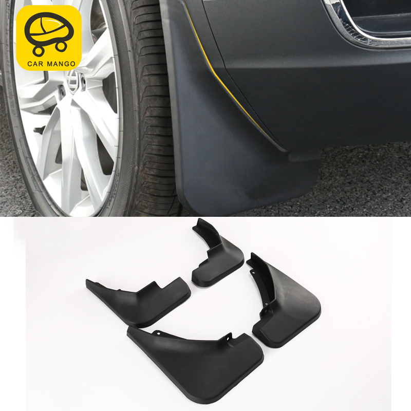 CARMANGO for <font><b>VW</b></font> Volkswagen T-ROC 2018 2019 Front Rear Car Mud Flap <font><b>Mudflaps</b></font> Splash Guards Mudguards Fender Flares Exterior Parts image