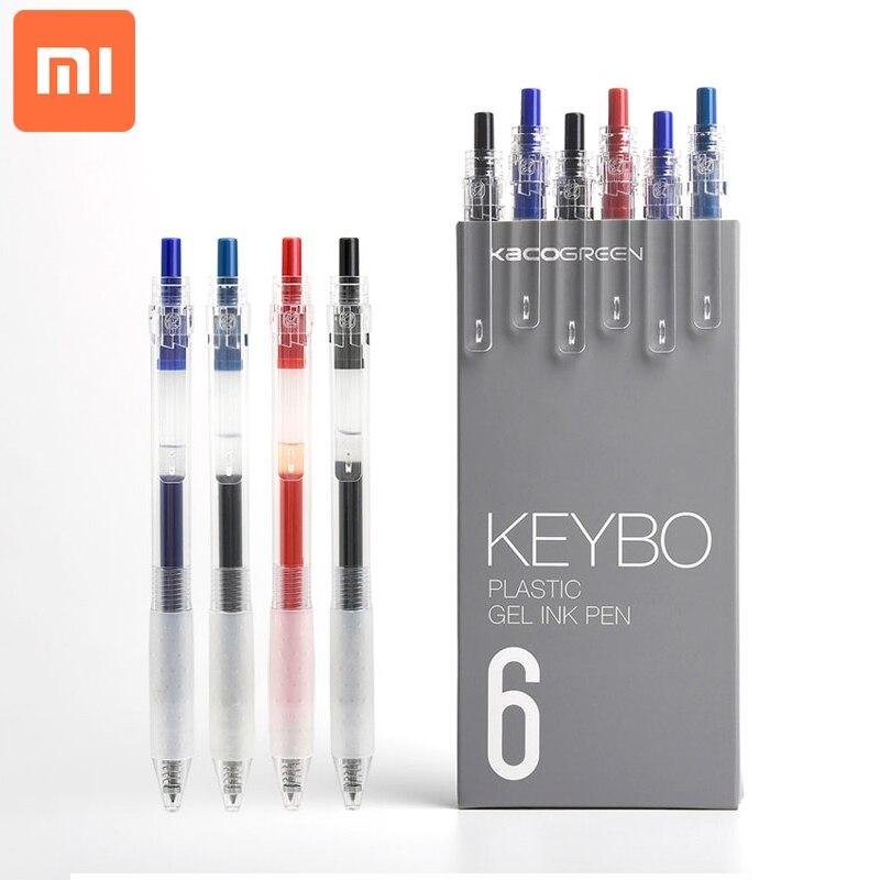 5pcs//Set für Xiaomi KACO Sign Pen Gel Pen 0.5mm Refill Colorful Smooth Writing