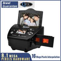 2,4 zoll 8,1 Mega Pixel 4 in 1 Foto und Film Scanner 135 Negative Scanner Foto Scanner COMBO Scanner mit CE/FCC/ROHS