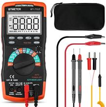 True RMS Digital Multimeter Auto Ranging DMM for AC DC Current 20A,1000V Resistance Capacitance Frequency Electrical Tester 2pcs bussmann dmm b 44 100 buss fuse 10x35mm 440ma 1000v for fluke multimeter f115c f116c f117c f87v f175 f177 f179 f287 f289