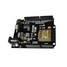 Esp32 arduino r3 d1 r32 trabalho módulo de desenvolvimento inteligente com chip de bluetooth wi-fi de modo duplo