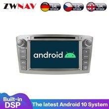Android 10 4 + 64G IPS Bildschirm DSP Auto DVD Player Für Toyota Avensis T25 2002-2008 Stereo GPS Navi Multimedia Radio Kopf Einheit 2 DIN