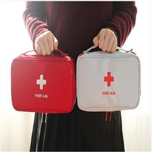 Portable First Aid Kit Creative Travel Accessories Emergency Drug Cotton Fabric First Aid Medicine Bag Pill Case Splitters Box цены
