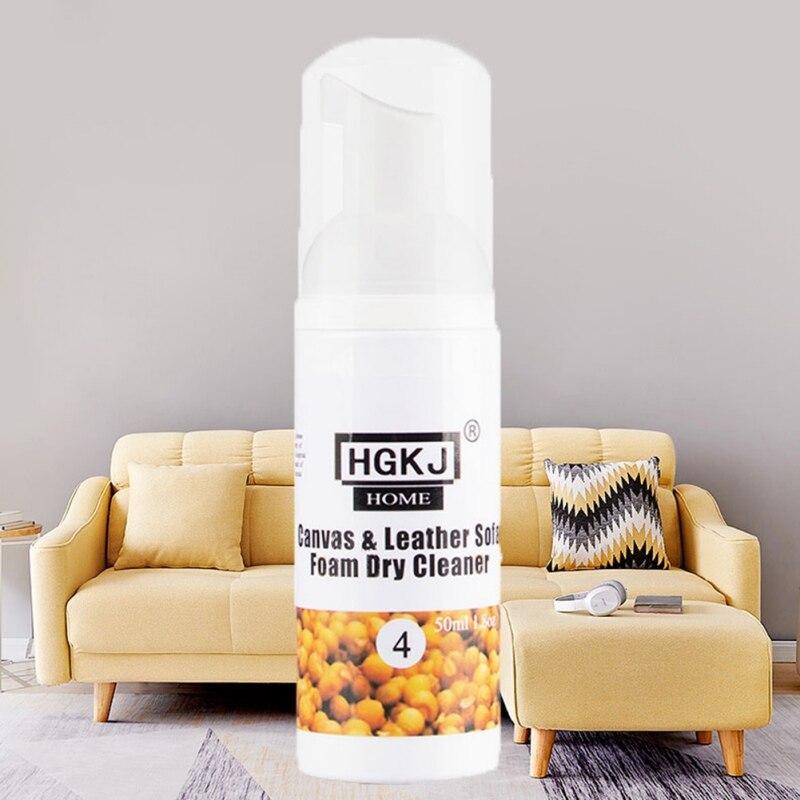 50ml Multi Purpose Cloth Sofa Foam Dry Cleaner Portable Household