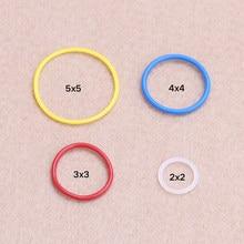 10-20 pçs/set MOC DECOOL technic partes Rubber Band 2x2 3x3 4x4 5x5 Compatível 85543 85544 85545 85546 Peças de Blocos de MOC