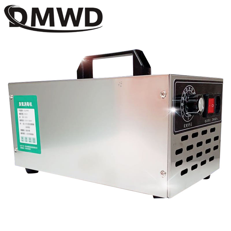 DMWD 30g 220V Air Purifier Ozone Generator 30000mg/h Ozonator  Home Ozone Disinfection Sterilizer Portable With Timing Switch EU