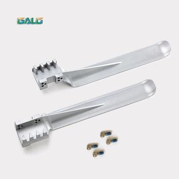 Aluminum baffle spring limit switch iron plate for sliding gate opener only spare part spare part spring limit iron for our sliding gate opener