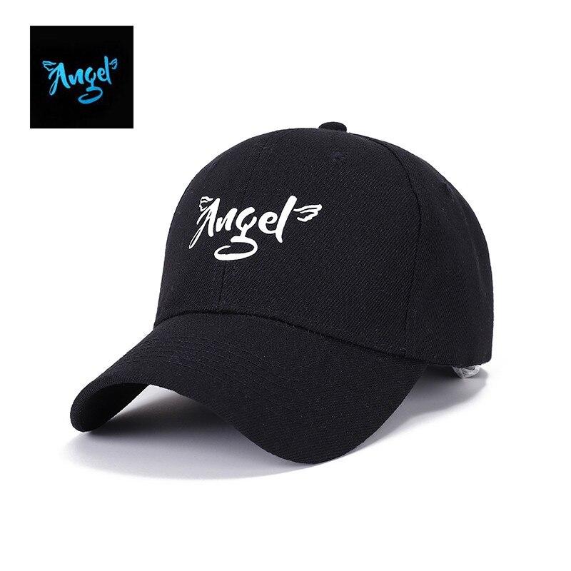 Fashion Fluorescence Baseball Cap Women Adult Snapback Caps Luminous Gorras Sport Casquette Hip Hop Cap Hat