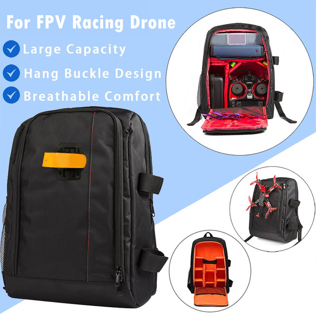 Portable Backpack Carry Case Outdoor Storage Bag For FPV Racing Drone Quadcopter Portable Backpack Carry Dropship 30
