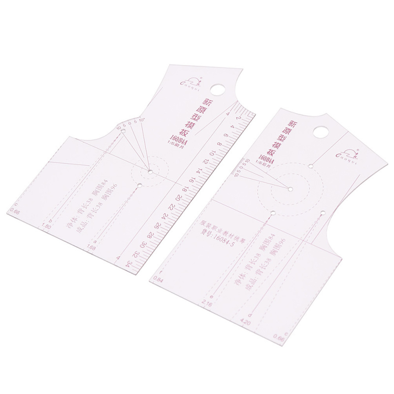Lychee Life 1:5 Fashion Design Ruler Cloth School Student Teching Apparel Drawing Templete Garment Prototype Rulers Sewing Tool