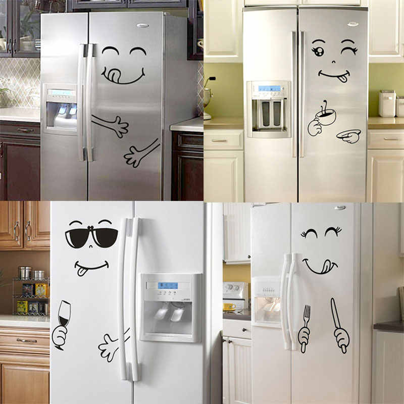 cartoon help cat refrigerator fridge