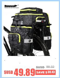 Excellent Rhinowalk 14 inch 20 inch Folding Bike Bag Loading Vehicle Carrying Bag Pouch Packed Car Thickened Portable Bicycle Pack 7