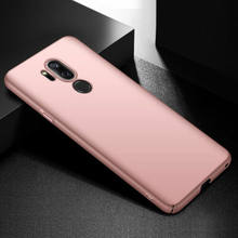Slim Matte Shockproof Pc Hard Plastic Case Voor Lg G7 G4 G5 G6 G3 K10 2018 Q6 V10 V20 V30 cover Metal Olie Patroon Telefoon Gevallen(China)