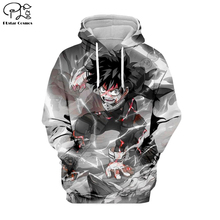 PLstar Cosmos My Hero Academia Anime Harajuku Tracksuit 3D Print Hoodie/Sweatshirt/Jacket/shirts Men Women hiphop casual style-1 футболка print bar my style