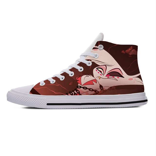 HOTEL HAZBIN 3D HIGH TOP SHOES (5 VARIAN)