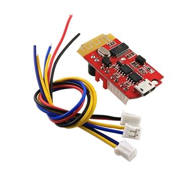 10 unids/lote CT14 micro 4,2 estéreo Bluetooth placa amplificadora de potencia audio Módulo F Clase 5W + 5W con carga DIY modificado altavoz