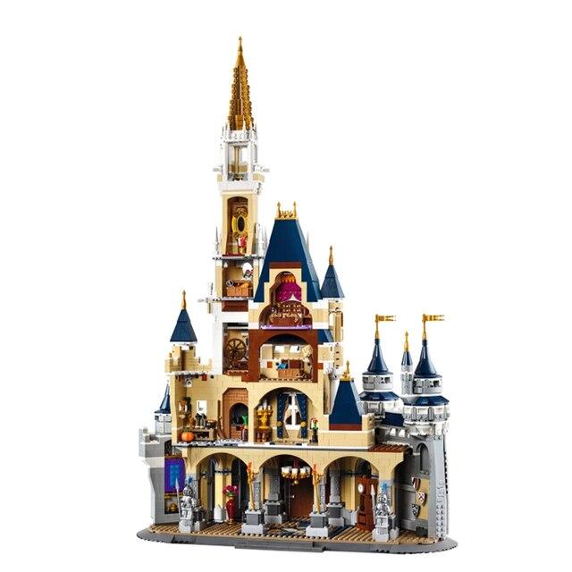 En Stock princesse château Compatible Lepining 71040 modèle blocs de construction 4080 pièce briques filles cadeau danniversaire jouets pour enfants