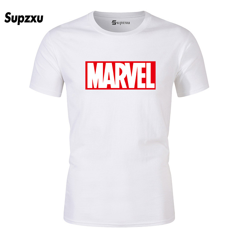 SUPZXU New Summer Fashion Marvel T Shirt Avengers T-Shirt Ideal Gift Streetwear Tops Tee Shirts Harajuku Men's T-shirts 2019
