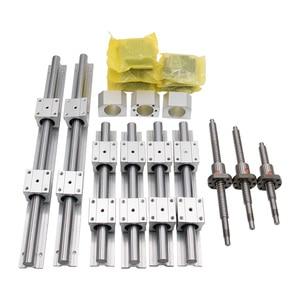 Image 2 - Free shipping linear guide HGR15/HGR20/SBR16/SBR20+ball screw SFU1605/1610+Nema23 stepper motor kit+spindle kit for cnc router